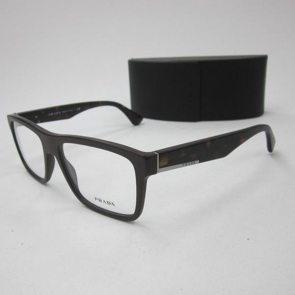 28abaf8c98a Prada VPR07S TFD-101 Men s Eyeglasses Italy OLN222